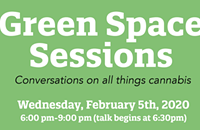 Announcing Green Space Sessions: Conversations on all things cannabis