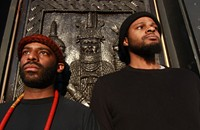 D.C. progressive jazz duo Blacks' Myths find the light in harsh noise
