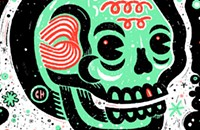 Skulls support self-publishing on the gig poster of the week