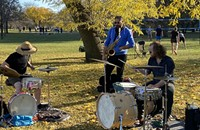 The pandemic pushed indoor music into the parks