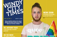 <em>Windy City Times</em> Special Pride insert (PDF) in this week's issue