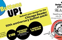 Final week! Enter our Button Design Contest in partnership with Busy Beaver Button Co.