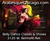 Belly dance classes at Arabesque Chicago