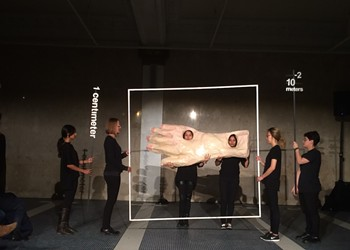 'Architecture performance' <i>Superpowers of Ten</i> is a bizarre and refreshing addition to the Architecture Biennial