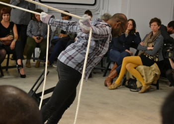 Baraka de Soleil tackles race and disability in a performance-art lecture tomorrow