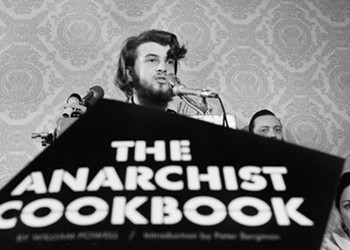 Charlie Siskel discusses his new documentary about the author of <i>The Anarchist Cookbook</i>