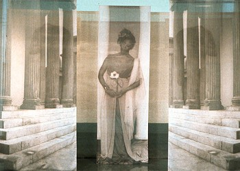 Carrie Mae Weems reshapes history in her image at the Block Museum