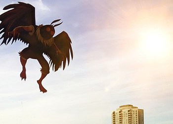 The Mothman cometh? My friend thinks he may have encountered Chicago's new monster