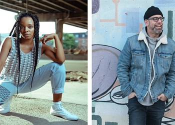 Jamila Woods and Kevin Coval collaborate with Vinyl for a Cause to benefit Young Chicago Authors