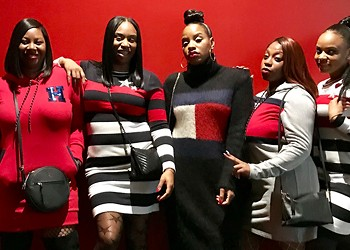 Shatara Powell celebrates her birthday in style and with her squad