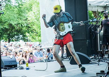 PHOTOS: Behind the Scenes with Grapetooth at Pitchfork