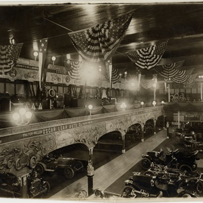 [Photos] The car was 'king' at the 1909 Chicago Auto Show