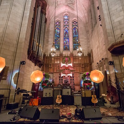 Andrew Bird at the Fourth Presbyterian Church