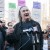 Riviera Theatre stagehands rally at Jam Productions headquarters, claim they were illegally fired