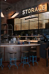 One of the restaurant's distinguishing characteristics is its footprint in the former Fulton Market Cold Storage. - ANDREA BAUER