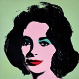 Andy Warhol, Liz #3 [Early Colored Liz]