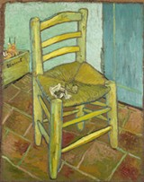 Vincent van Gogh, Van Gogh's Chair (1888) - COURTESY ART INSTITUTE CHICAGO