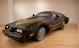 Guy Overfelt, Untitled (1977 Smokey and the Bandit Trans Am replica), 1999 - COURTESY ELMHURST ART MUSEUM