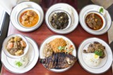 A selection of the dishes at Gorée Cuisine - DANIELLE A. SCRUGGS