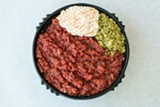 The ground raw beef dish kitfo - BRITTANY SOWACKE
