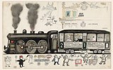 Along the Lines: Selected Drawings by Saul Steinberg