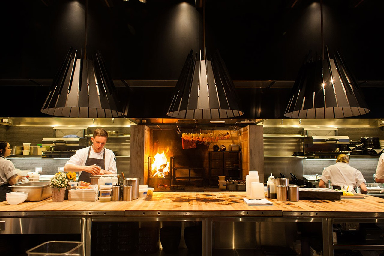 Roister the alinea group s casual spot is jaw dropping for Kitchen chicago
