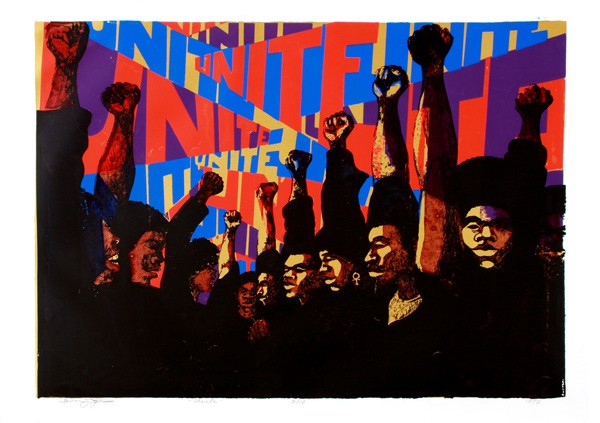 Unite, 1968-'71, by Barbara Jones-Hogu