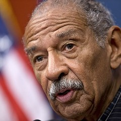 U.S. Rep. John Conyers, Jr. in 2013. Conyers has been seeking consideration of reparations for African-Americans since 1989.