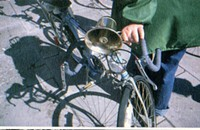 Bikes as instruments in Richard Lerman's <i>Travelon Gamelon</i>