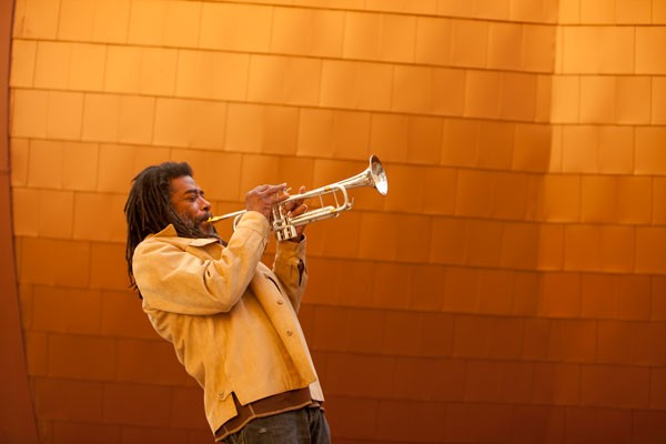 Wadada Leo Smith will play a portion of Ten Freedom Summers on Friday night with the Golden Quartet, Pacifica Red Coral, and video artist Jesse Gilbert.