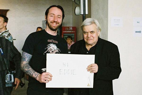 Wah with H.R. Giger
