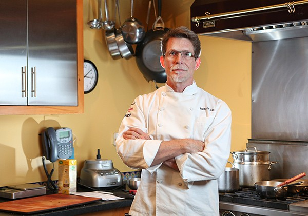 """We don't have any experience in creating products like that, but what we can offer them is an education in flavor."" —Chef Rick Bayless of Frontera Grill, Topolobampo, and Xoco - CHANDLER WEST"