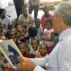 We know Mayor Emanuel has read some books, including many without pictures. But how often does he have the time for long philosophical novels about the disparate state of modernity?