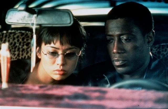 Wesley Snipes (right) in The Art of War