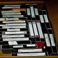 What's Happening With Sulzer Library's VHS Tapes?