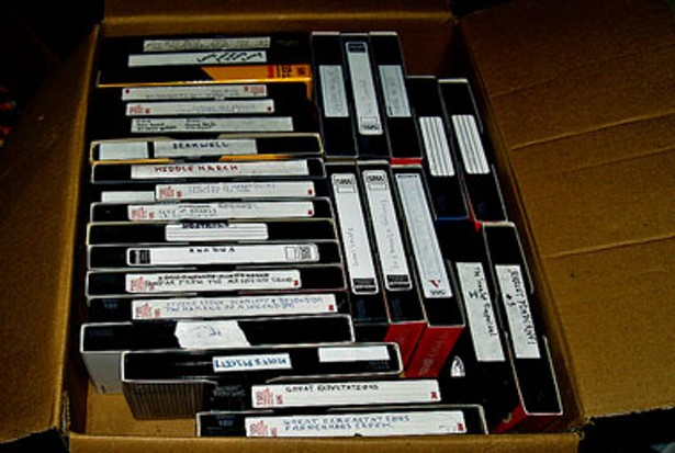 whats happening with sulzer librarys vhs tapes