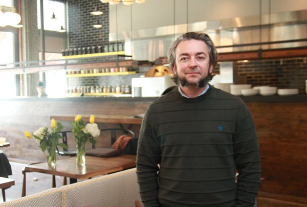 """""""When you're young and you're a chef, you're like, 'I can't learn anything from these big companies. As a matter of fact you can, and you can learn a lot.""""—Chef Matthias Merges of Yusho, Billy Sunday, and A10 - RAMZI DREESSEN"""