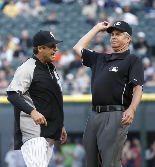 Robin Ventura was ejected in the first inning last night. Sox fans may have wished theyd been so lucky.