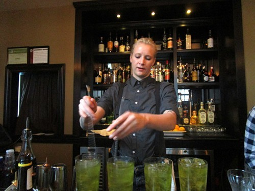 Whitney Morrow, mixologist at Drumbar