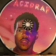 Who made the bootleg Acid Rap CD that hit the Billboard charts?
