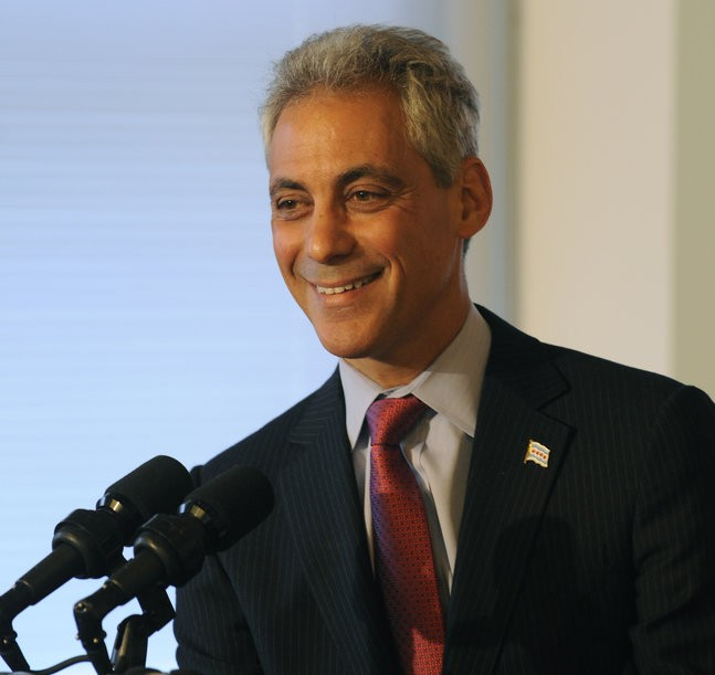 Why is Rahm smiling? Because his advisory board will do whatever he tells them!