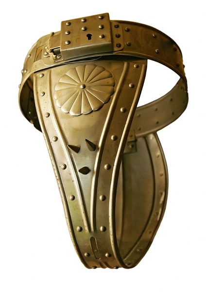 """""""CHASTITY BELT"""" PHOTO FROM SHUTTERSTOCK"""