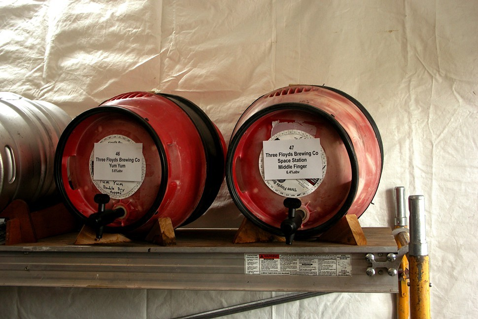 Why so many pictures of casks, Philip? Well, casks are great at holding still for long exposures. Thanks for asking.