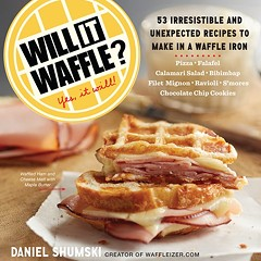 Will It Waffle? Daniel Shumski's Waffleizer book hits bookstores today