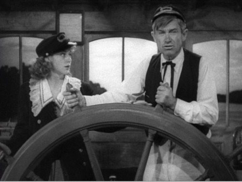 Will Rogers (right) in Steamboat Round the Bend (1935)