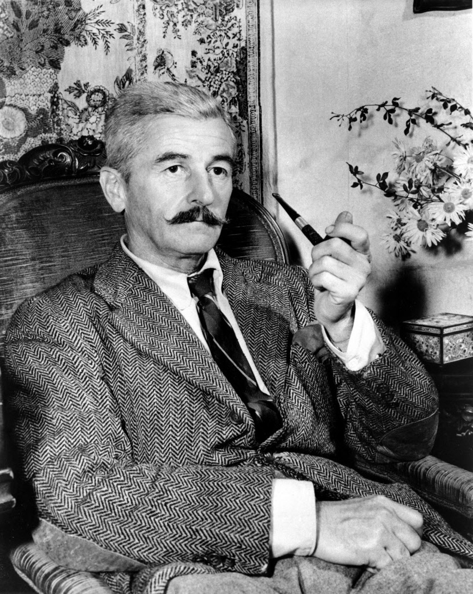 William Faulkner—he said a mouthful.