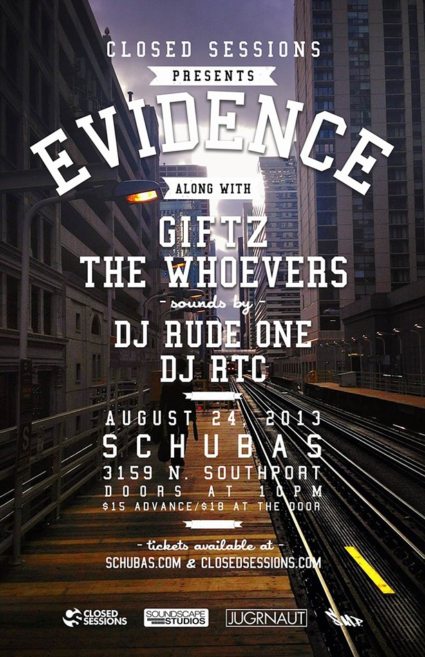 Win tickets to see Dilated Peoples' Evidence