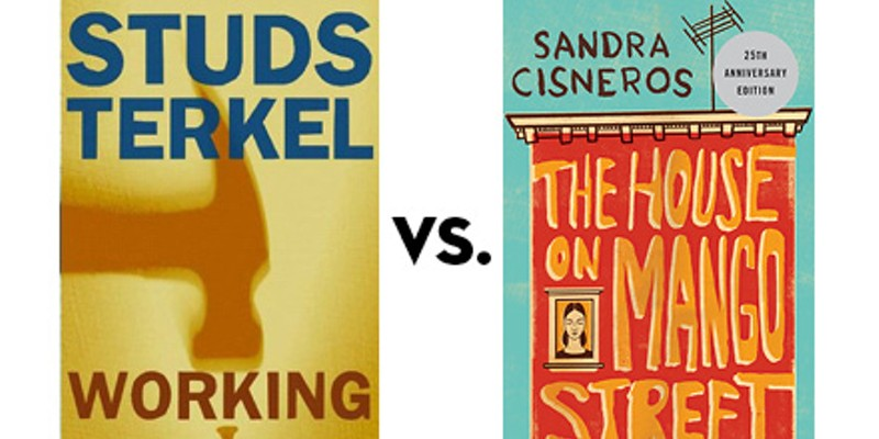 Working vs. The House on Mango Street: Greatest Chicago Book Tournament, final four