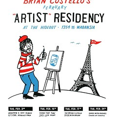 Writer and Shame That Tune cohost Brian Costello launches his Hideout residency tonight