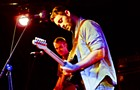 American Football graced the stage at Beat Kitchen on Saturday